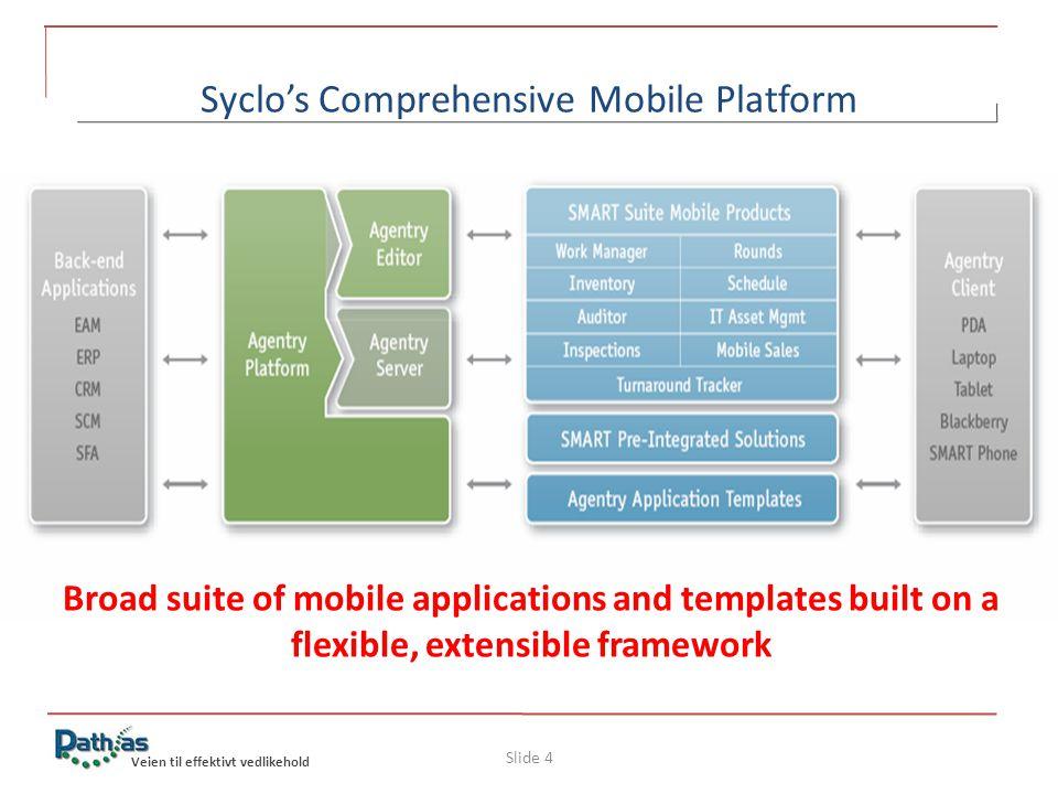Veien til effektivt vedlikehold Syclo's Auditor – mobilt verktyg för att hålla reda på Assets Möjlighet att lägga till en ny placering / lokasjon.