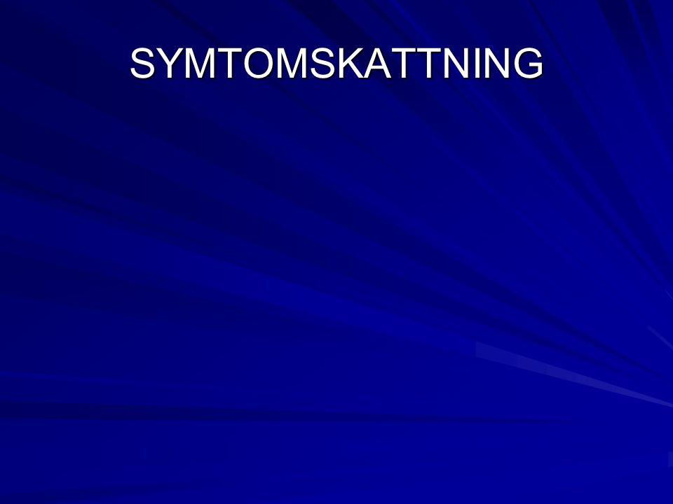 SYMTOMSKATTNING