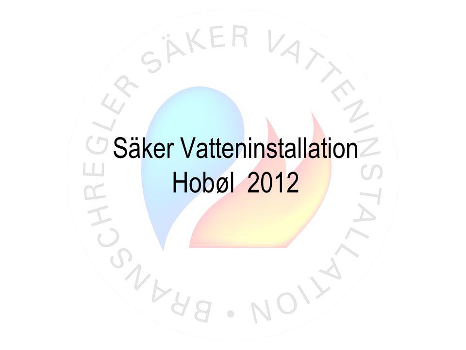 Produktmärkning • CPR från 1 juli 2013 • CE-märkning av VVS-produkter blir obligatoriskt i Europa • Typgodkännande ej tillåten i Sverige • Boverket rekommenderat regeringen • Konsekvenser för beställare och installatörer hålla kvalitetskrav