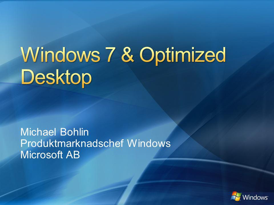 Michael Bohlin Produktmarknadschef Windows Microsoft AB
