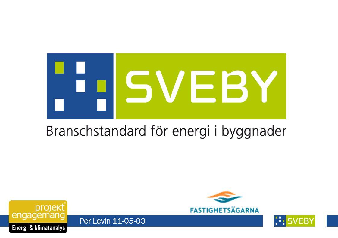 Sveby-programmet 1Definition av begrepp och parametrar för kravspecifikation, upphandling och verifiering.