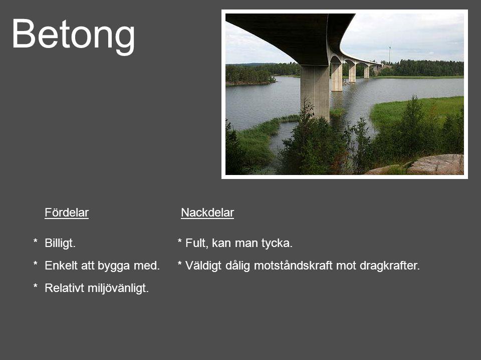 Betong - gjutning * Gjutning börjar med att man blandar cement med fyllmaterial och vatten.