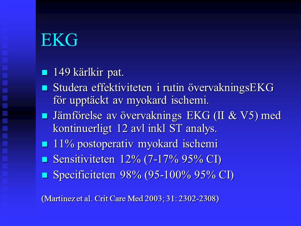 EKG  149 kärlkir pat.