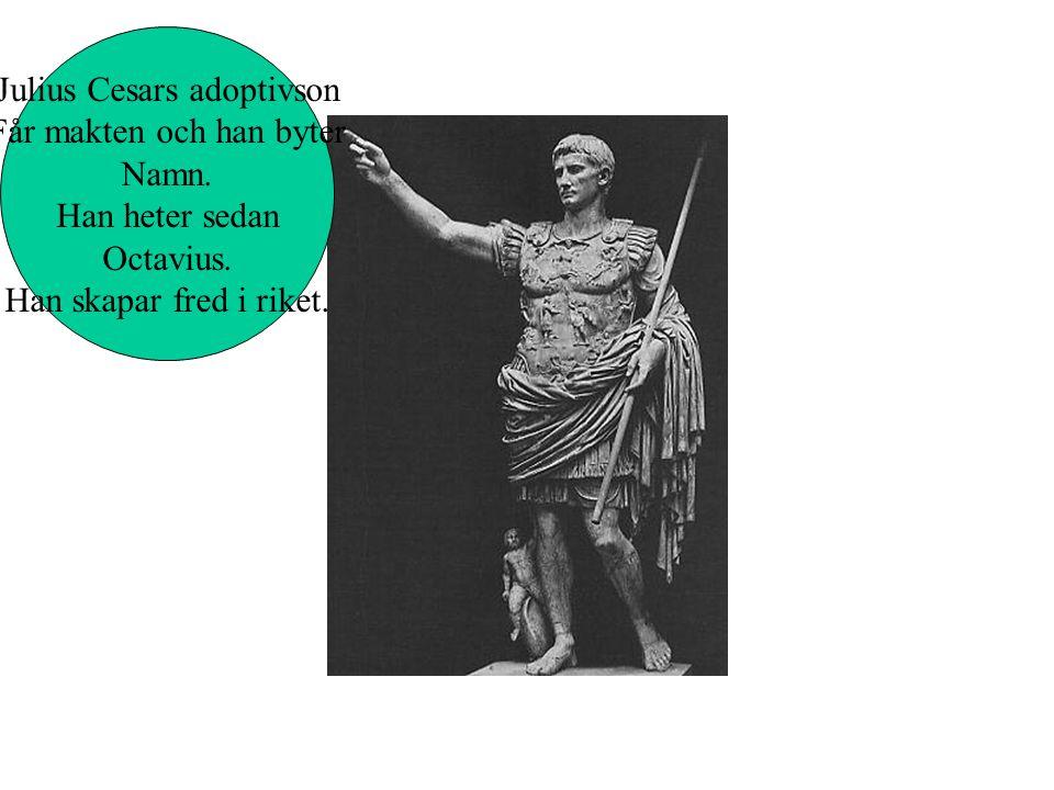 Mordet på diktator Julius Cesar I Senaten i Rom År 69 f.kr.