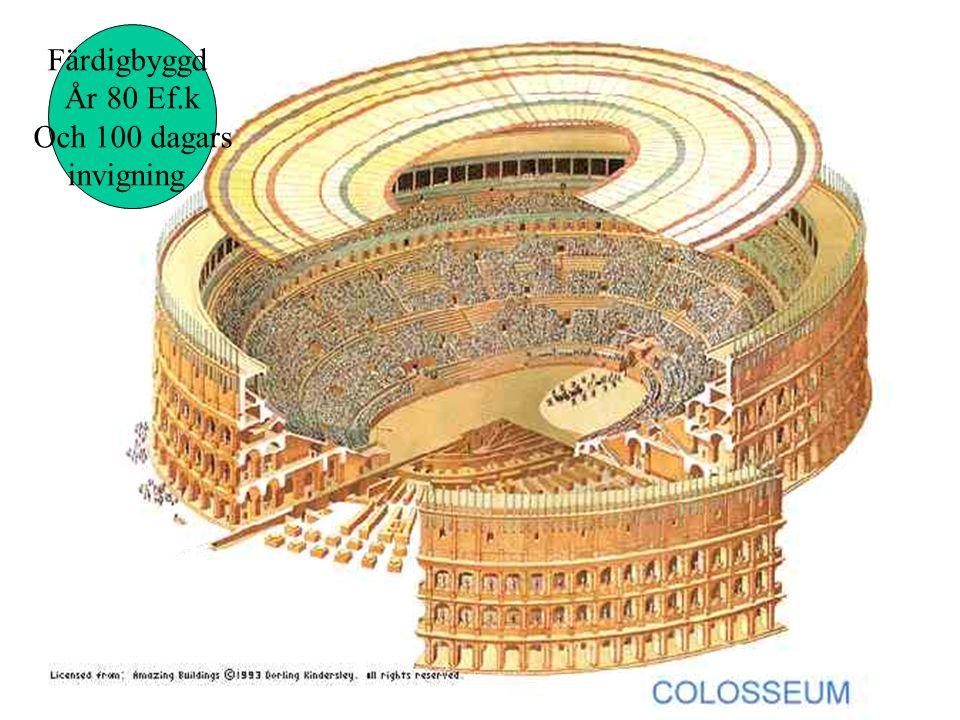 Alla vägar bär till Rom Soldater byggde vägar till Rom