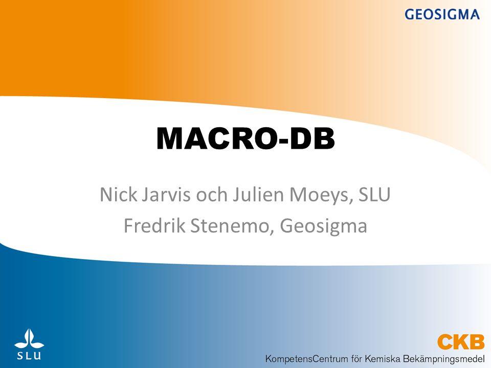 Vad är MACRO-DB.