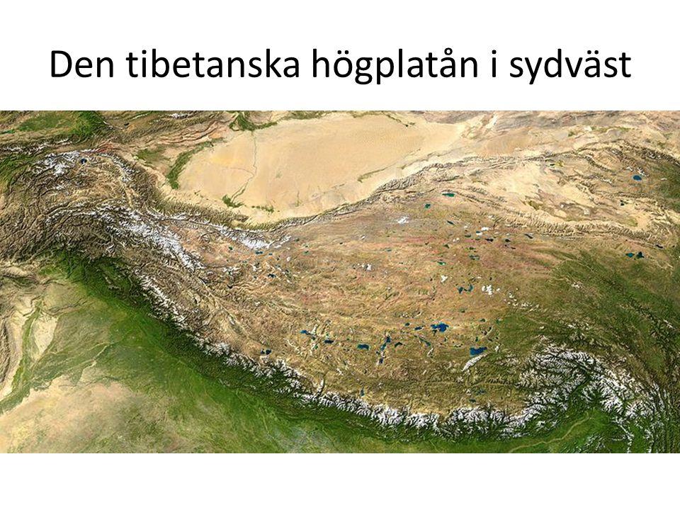 Den tibetanska högplatån i sydväst