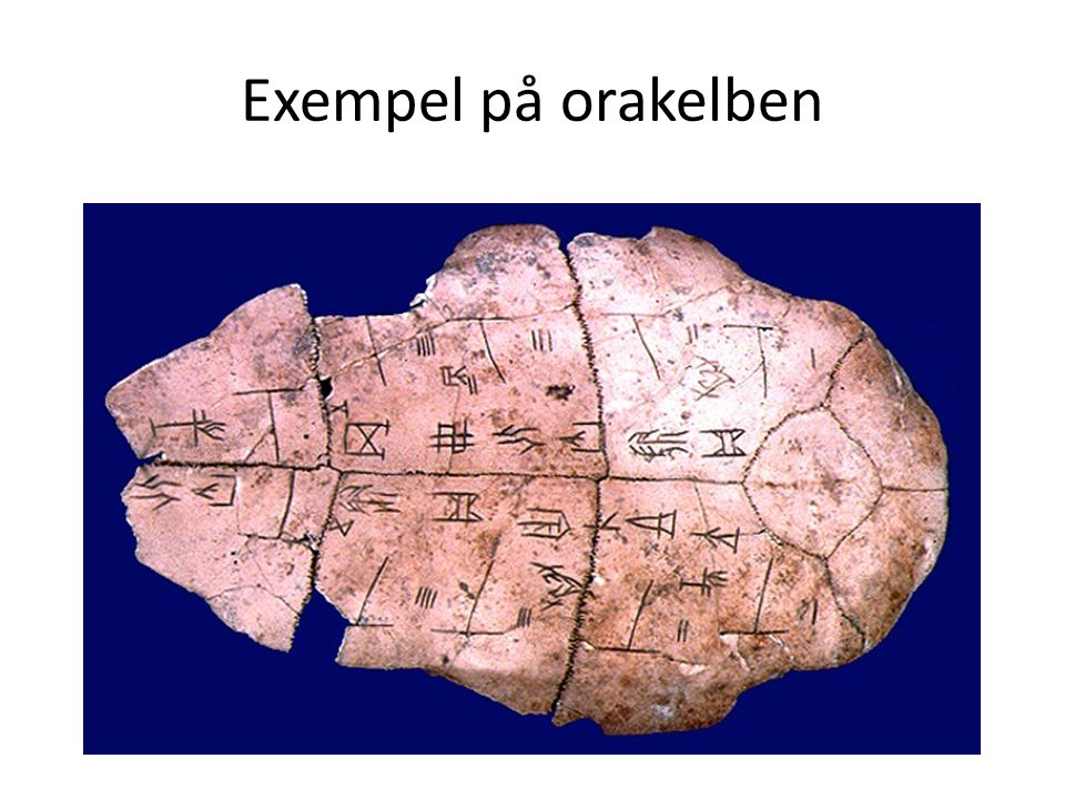 Exempel på orakelben