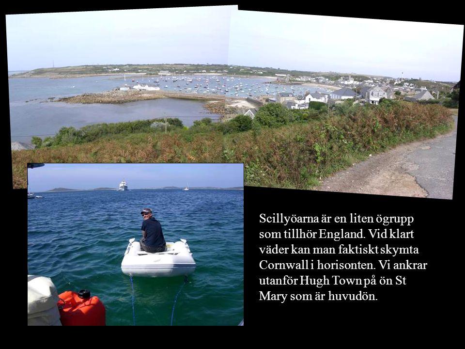 Scillyöarna är en liten ögrupp som tillhör England.