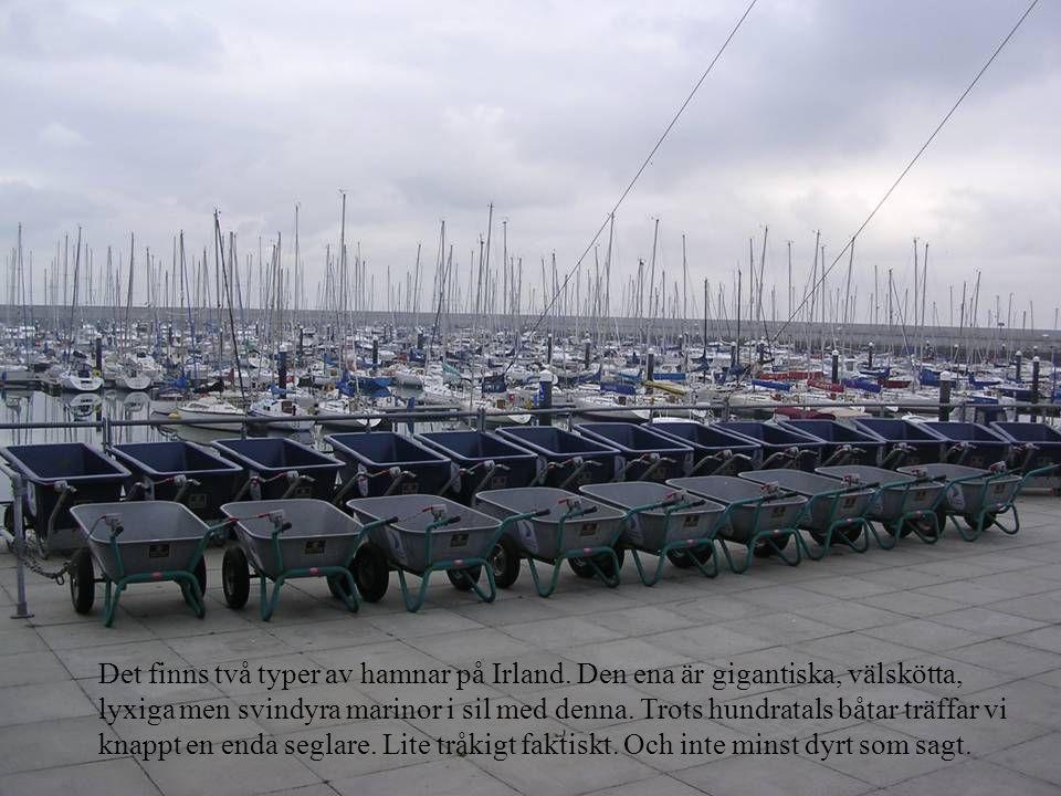 Det finns två typer av hamnar på Irland.
