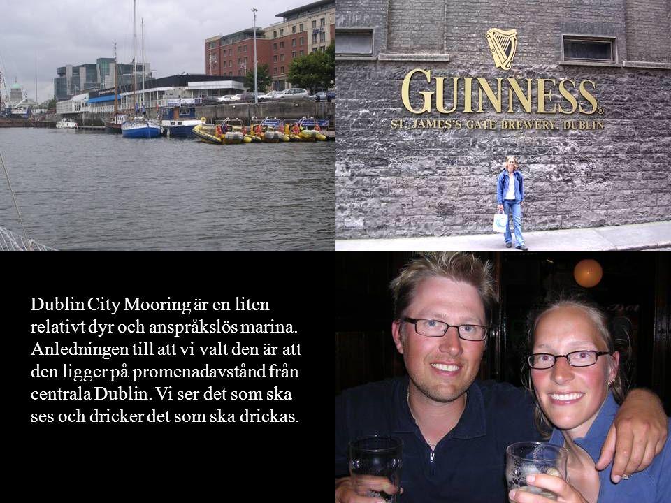 Dublin City Mooring är en liten relativt dyr och anspråkslös marina.