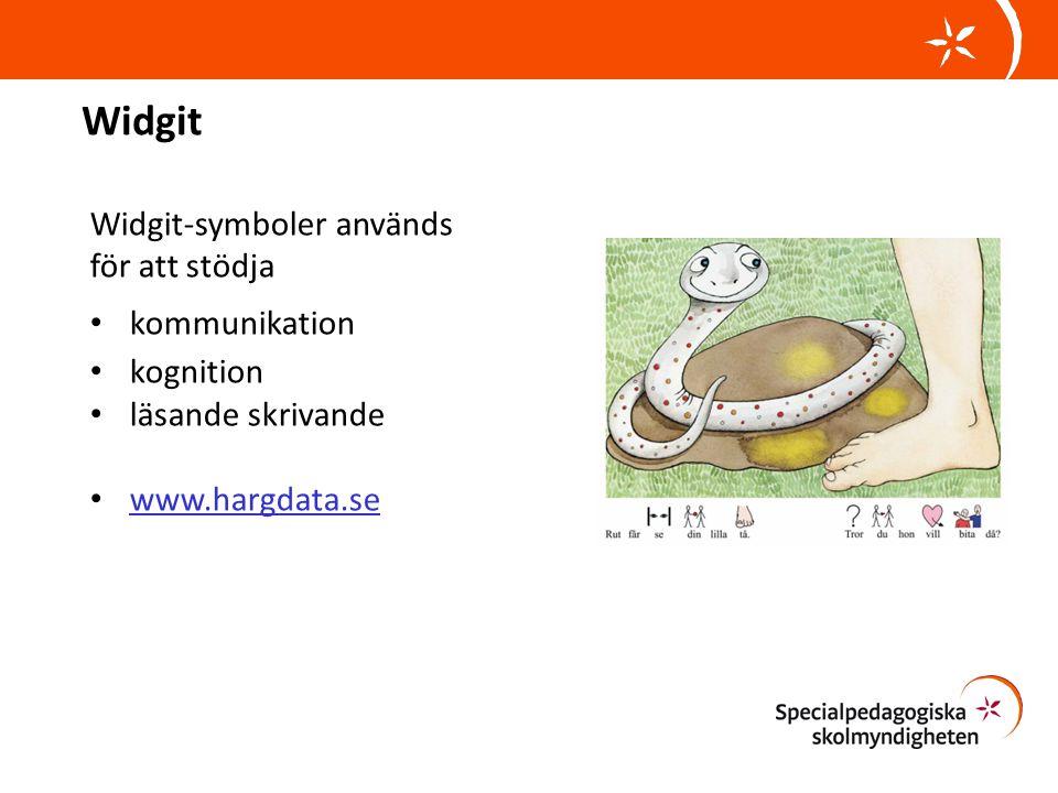 Widgit Widgit-symboler används för att stödja • kommunikation • kognition • läsande skrivande • www.hargdata.se www.hargdata.se