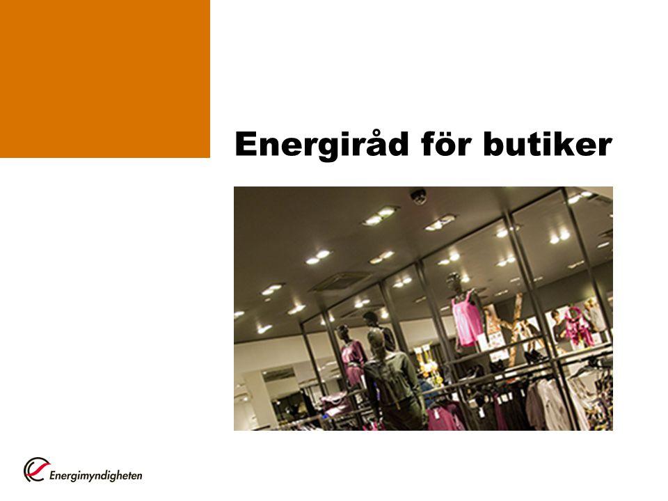 Energiråd för butiker