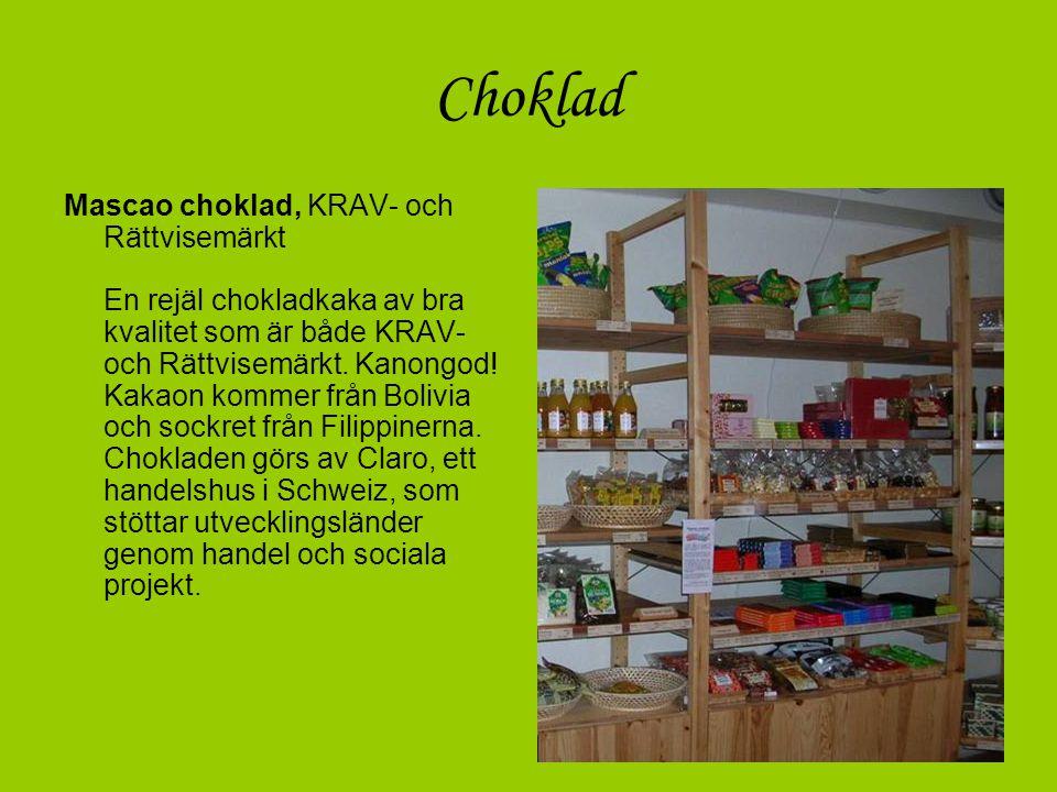 Kaffe Konsumentförpackat, KRAV- och Rättvisemärkt Cafe Organico och Kyrkkaffe tillhör några av våra mest uppskattade produkter.