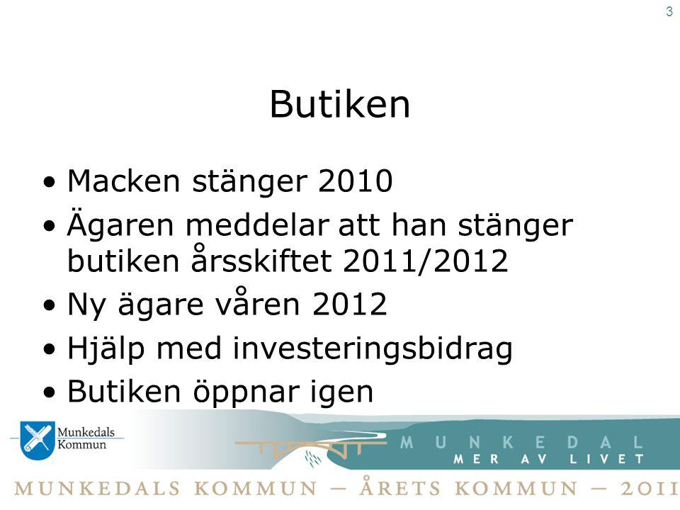 Ambassadörskap •Besök från kommuner och andra org: –Gullspång –Örnsköldsvik –Eda –Falköping –Tillväxtverket 14