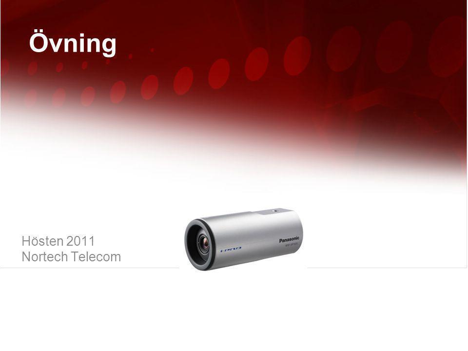 Övning Hösten 2011 Nortech Telecom