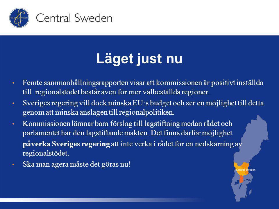 Nästa steg Efter att EU:s nya budget har antagits kommer EU-kommissionen att lägga fram förslag till lagstiftning om den framtida sammanhållningspolitiken.