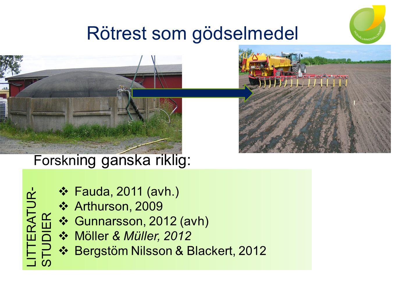 Slutsatser växtnäringsaspekter rötrest N-effekt ≈ NH 4 -N – Nimmob.