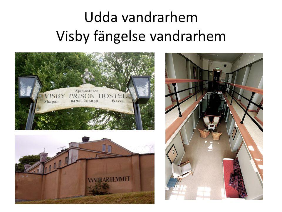 Udda vandrarhem Visby fängelse vandrarhem