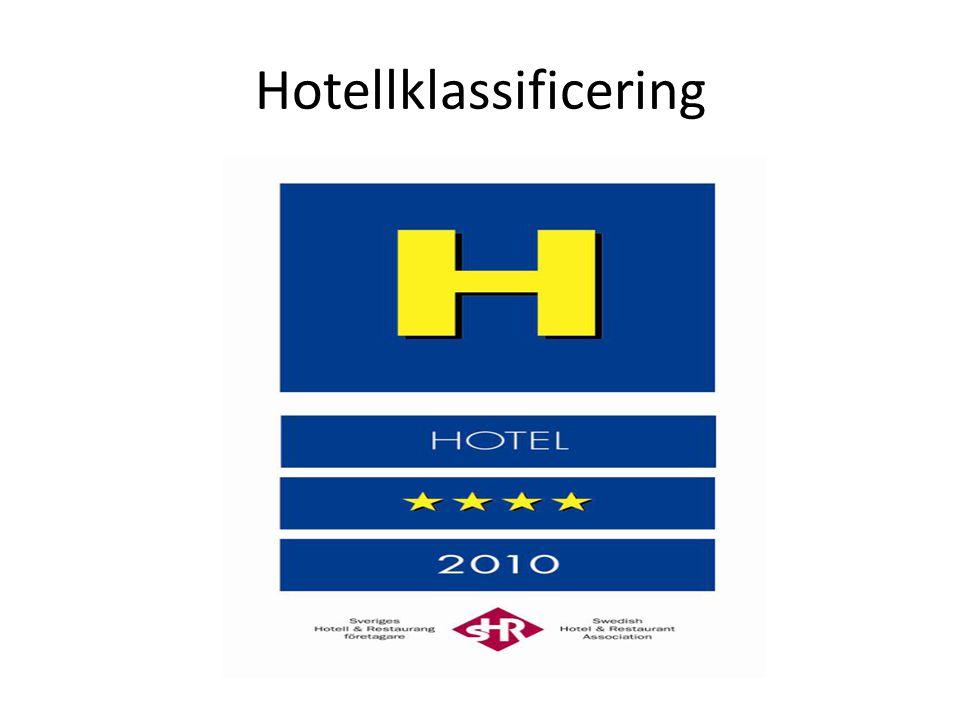 Hotellklassificering