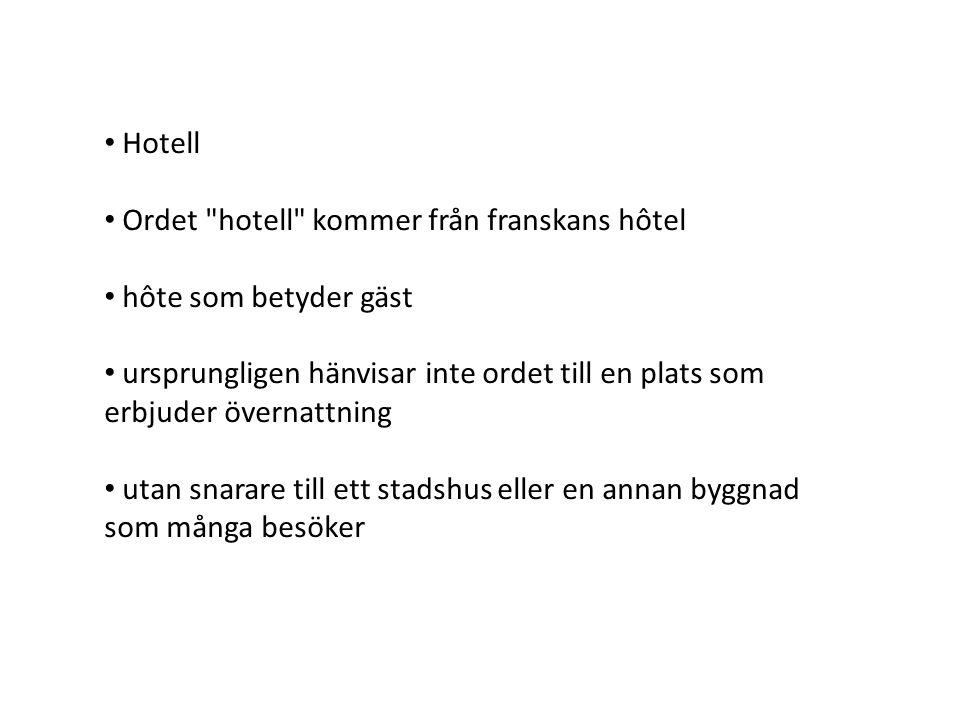 Hotell Ordet