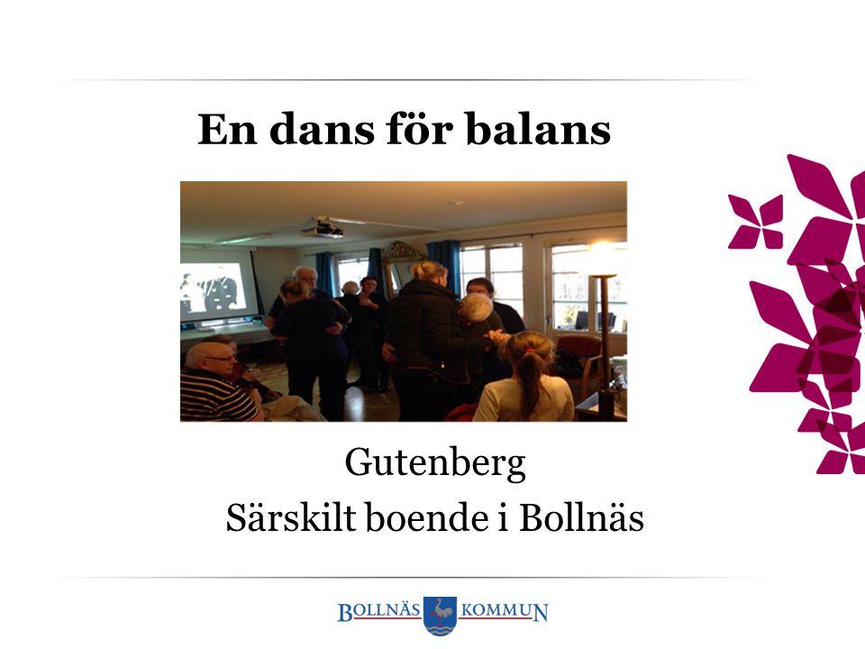 En dans för balans Gutenberg Särskilt boende i Bollnäs