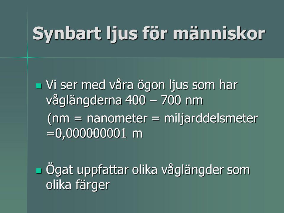 Linser Konvex lins XX Fokus eller brännpunkt Brännvidd Ex på beteckning +15 Det betyder konvex lins med brännvidden 15 cm