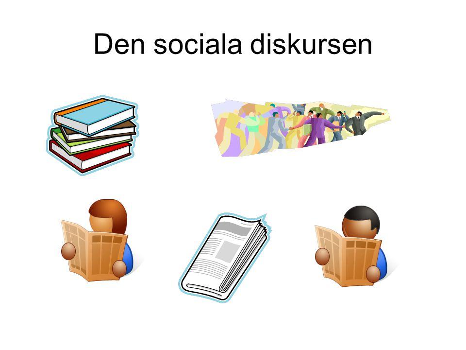 Den sociala diskursen