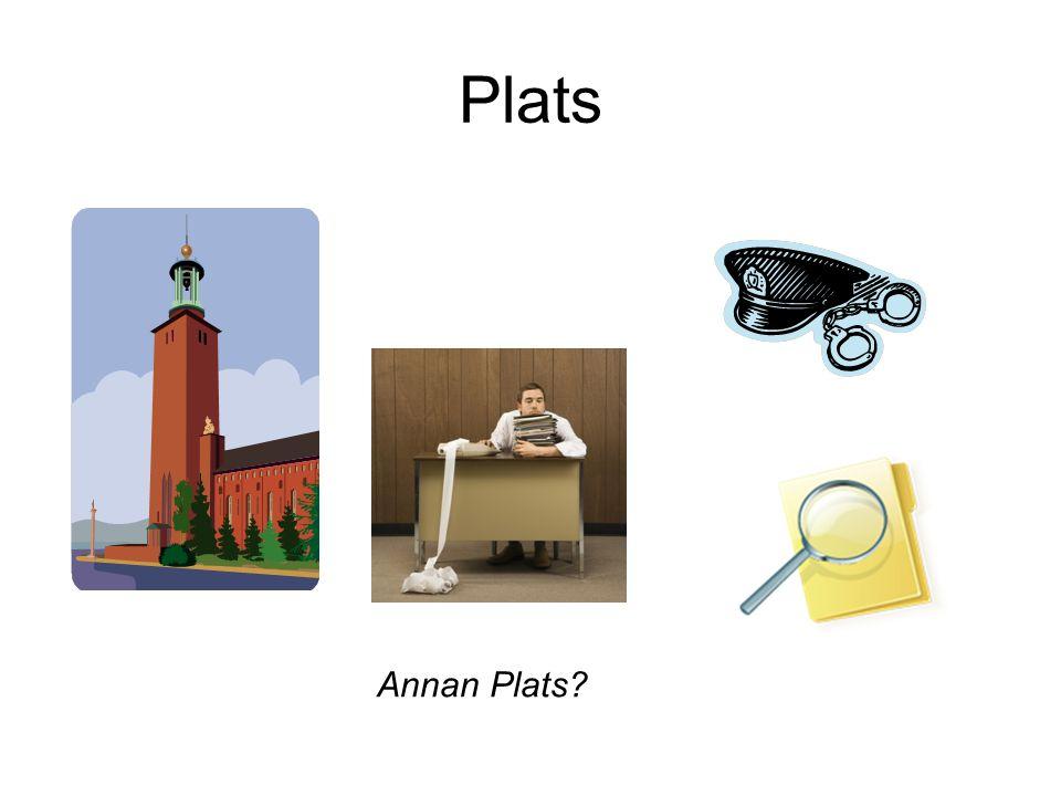 Plats Annan Plats?