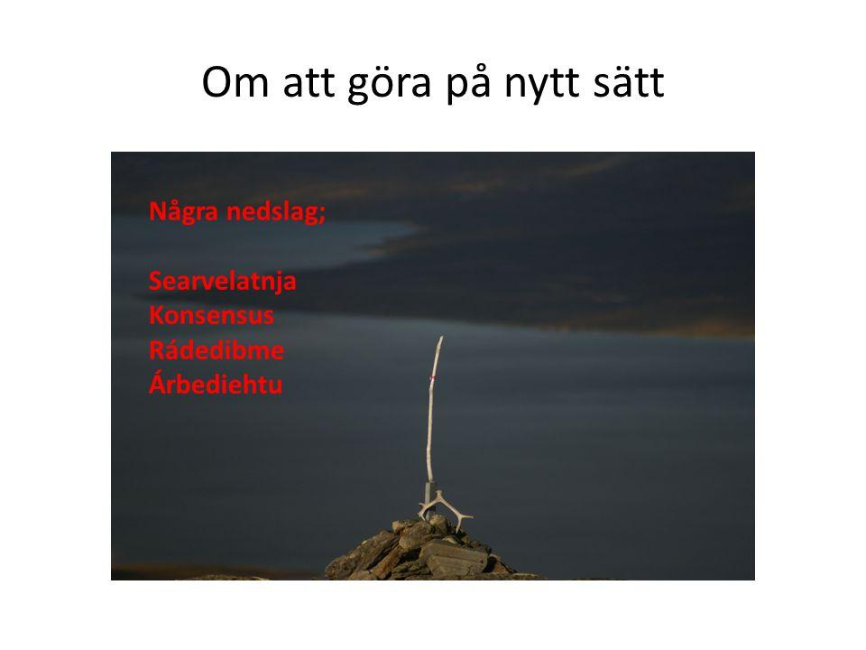 Förvalta de olika dimensionerna i Laponia
