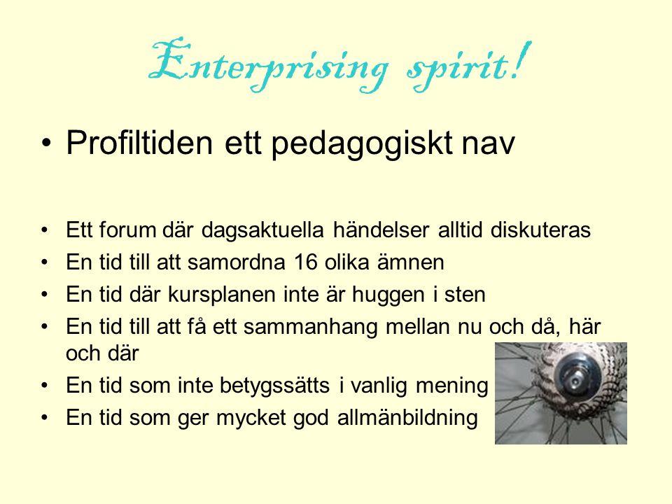 Kriterier för att bli antagen Tycka att skolan är rolig och viktig En, för sin ålder, bra allmänbildning Kreativ och nyfiken