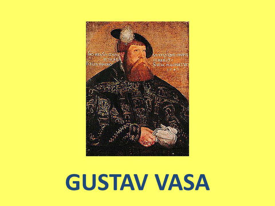 Föddes ca år 1496 i Sverige på Rydholm norr om Stockholm, årtalet, datumet och födelseplatsen osäkert Gustav tillhörde till monarkiska dynastin Vasaätten, och därmed anslöt sig Gustav Vasa tidigt till kretsen runt Sten Sture den yngre.
