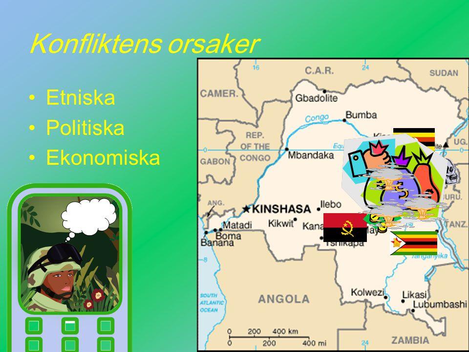 Konfliktens orsaker Etniska Politiska Ekonomiska