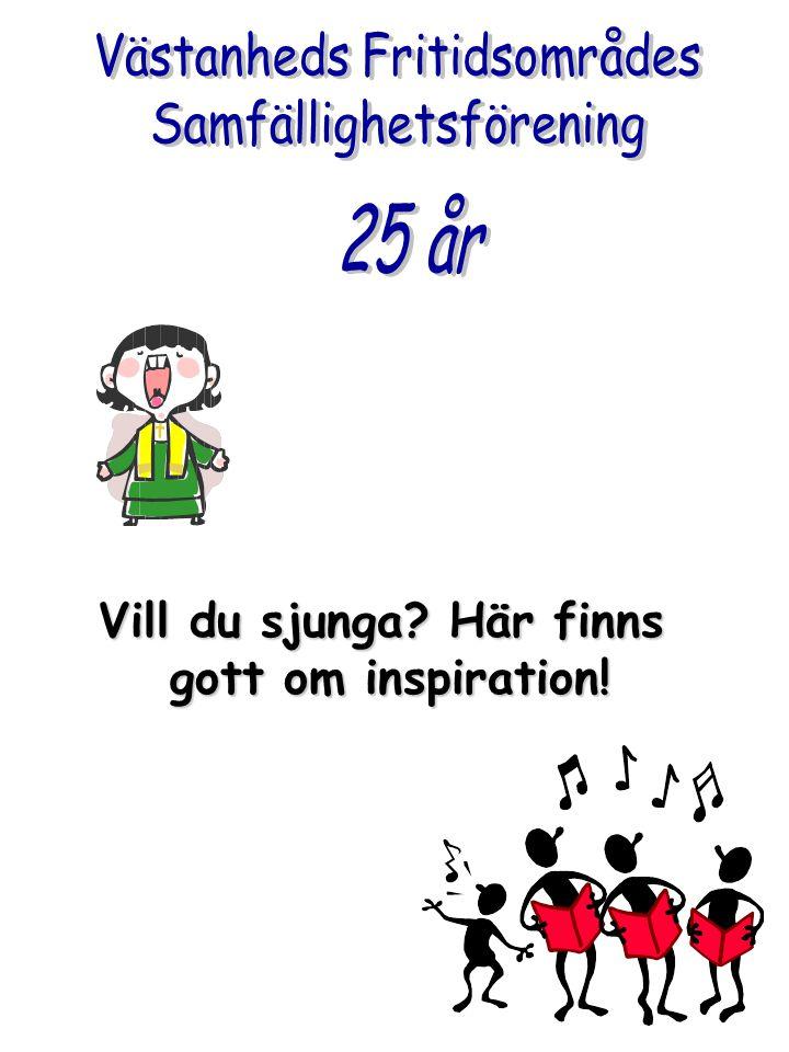Vill du sjunga? Här finns gott om inspiration!