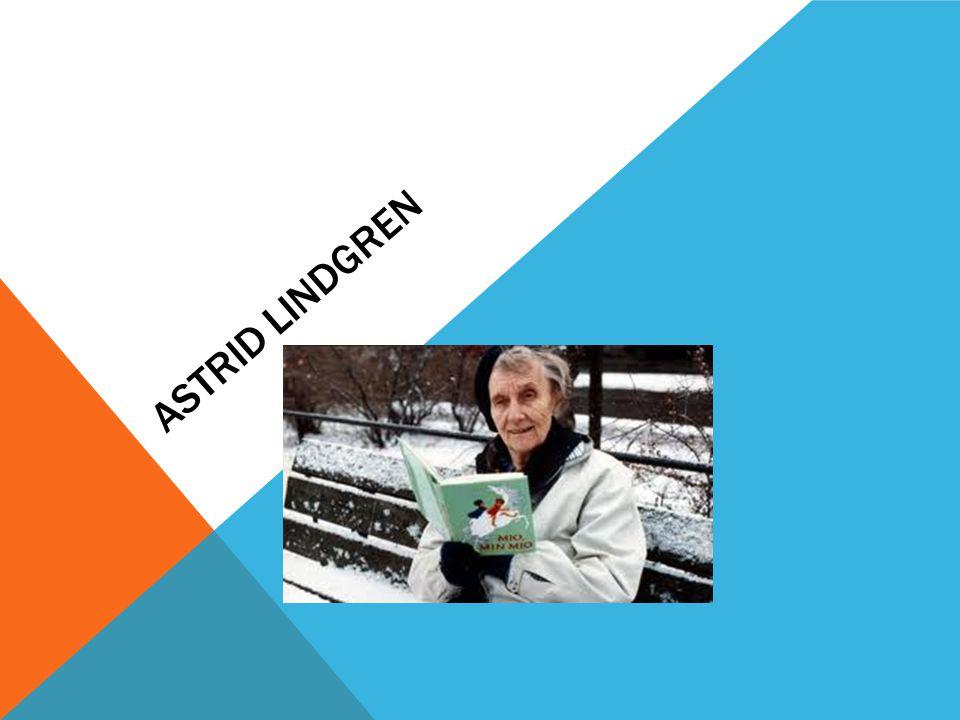 Så här ser Astrid Lindgren ut.