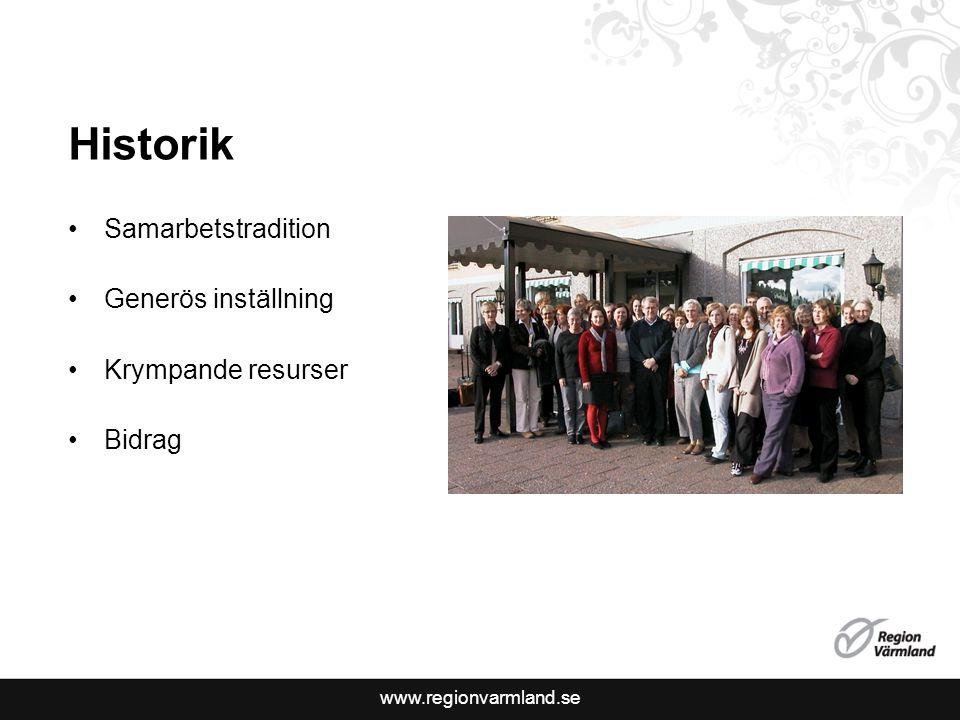 www.regionvarmland.se Syfte Samordning av resurser För användarnas bästa Bättre resursutnyttjande