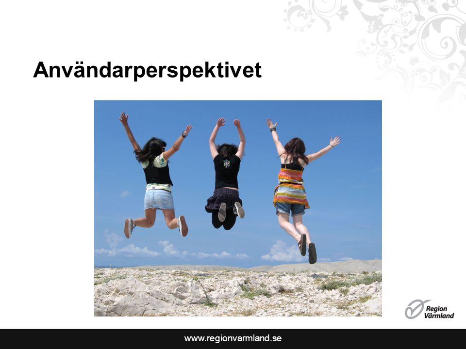 www.regionvarmland.se Användarperspektivet