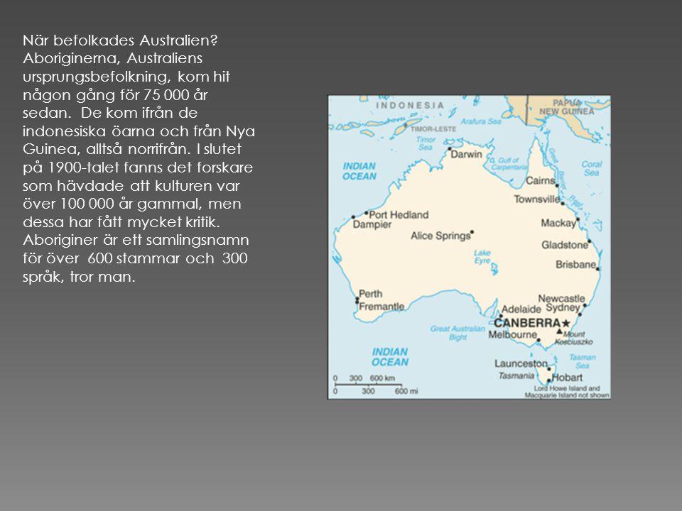 På Tasmanien har aboriginer funnits i minst 35 000 år.