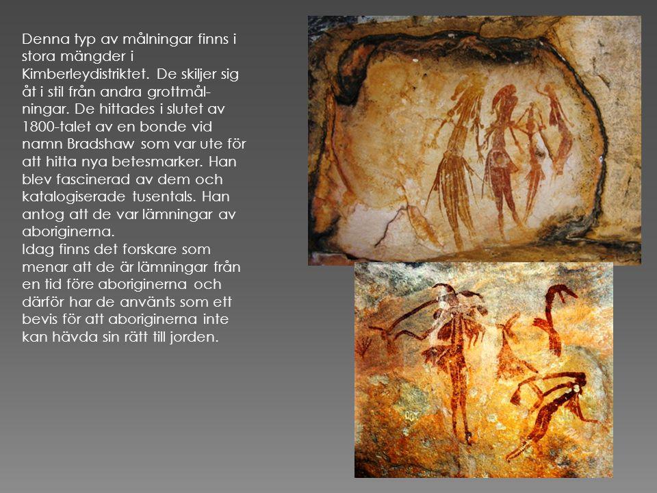 Målningarna på denna sida är yngre, kallas wahinja.