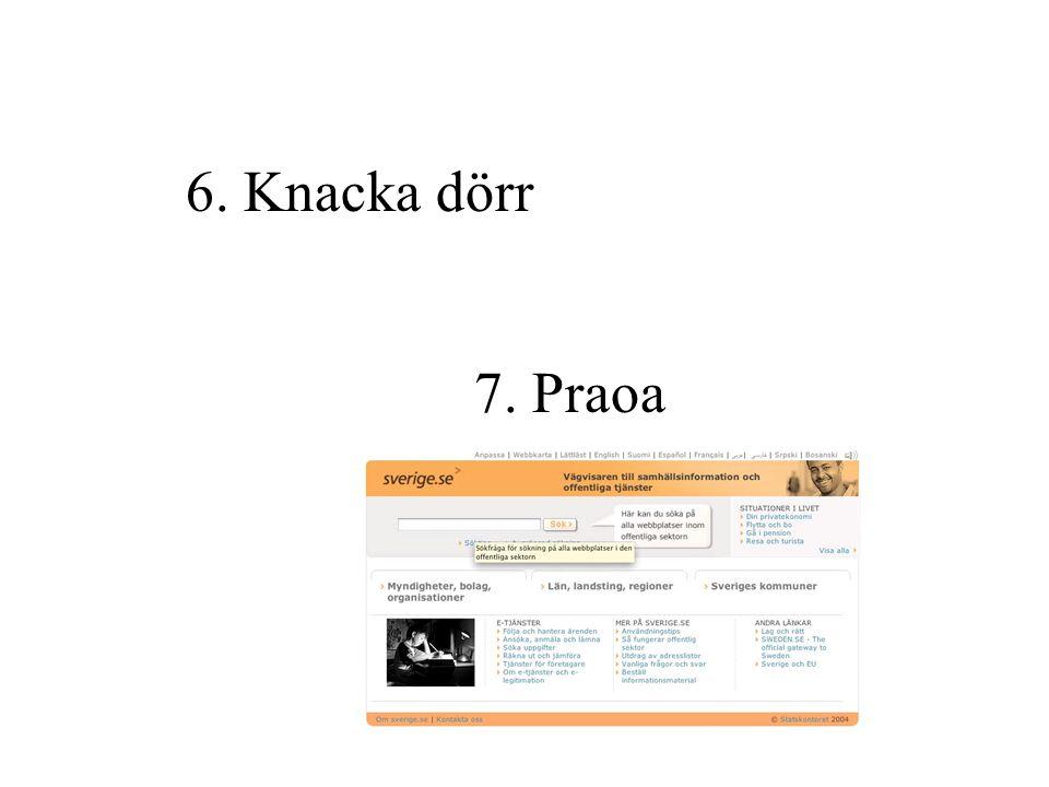 5. Gör en kuvertaktion