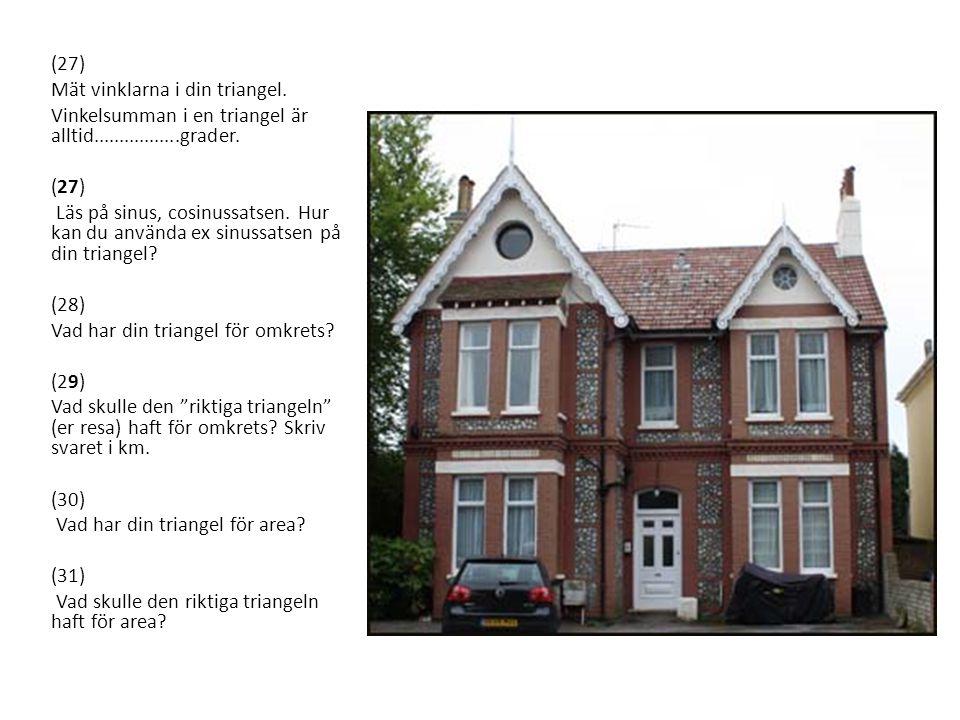 (32) På föregående bild ser ni ett viktorianskt hus från England.
