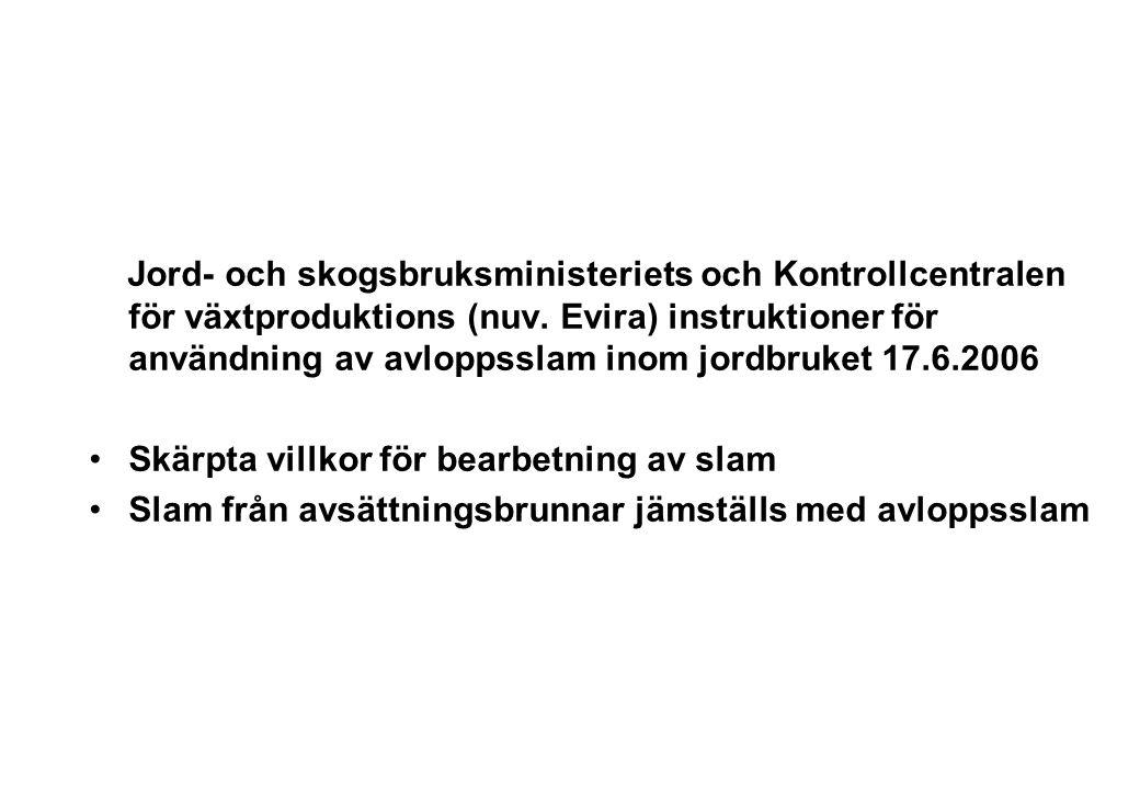 Jord- och skogsbruksministeriets och Kontrollcentralen för växtproduktions (nuv.