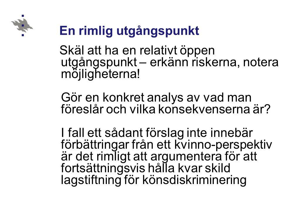 Några tankar utgående från CEDAW-konventionen 1.Konventionen i norsk rätt 2.