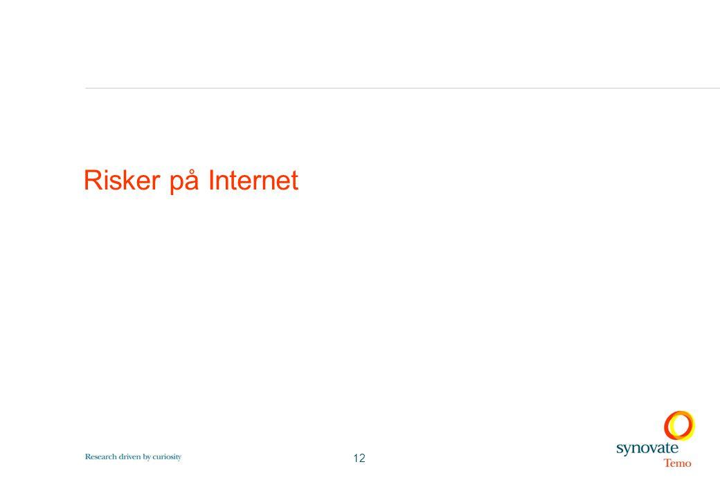 12 Risker på Internet