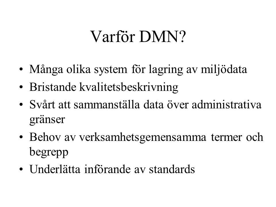 Varför DMN.