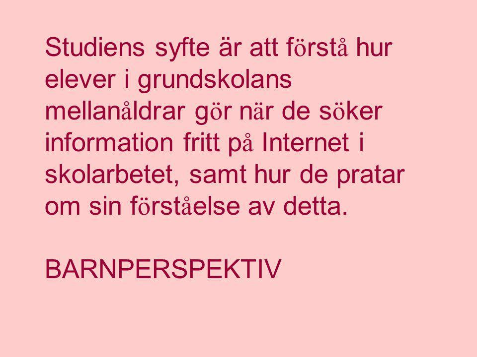 AnnBritt Enochsson Karlstads Universitet Hemsida: http://hem3.passagen.se/enochfri/absv E-post: annbritt.enochsson@kau.se