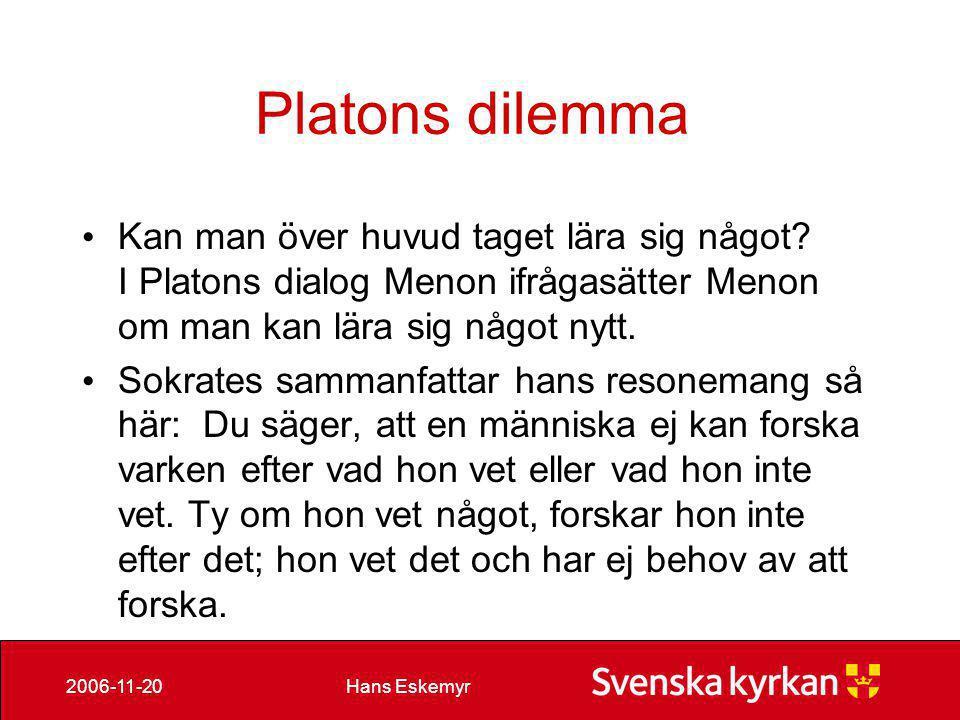 Hans Eskemyr2006-11-20 Fördelning små och stora enheter