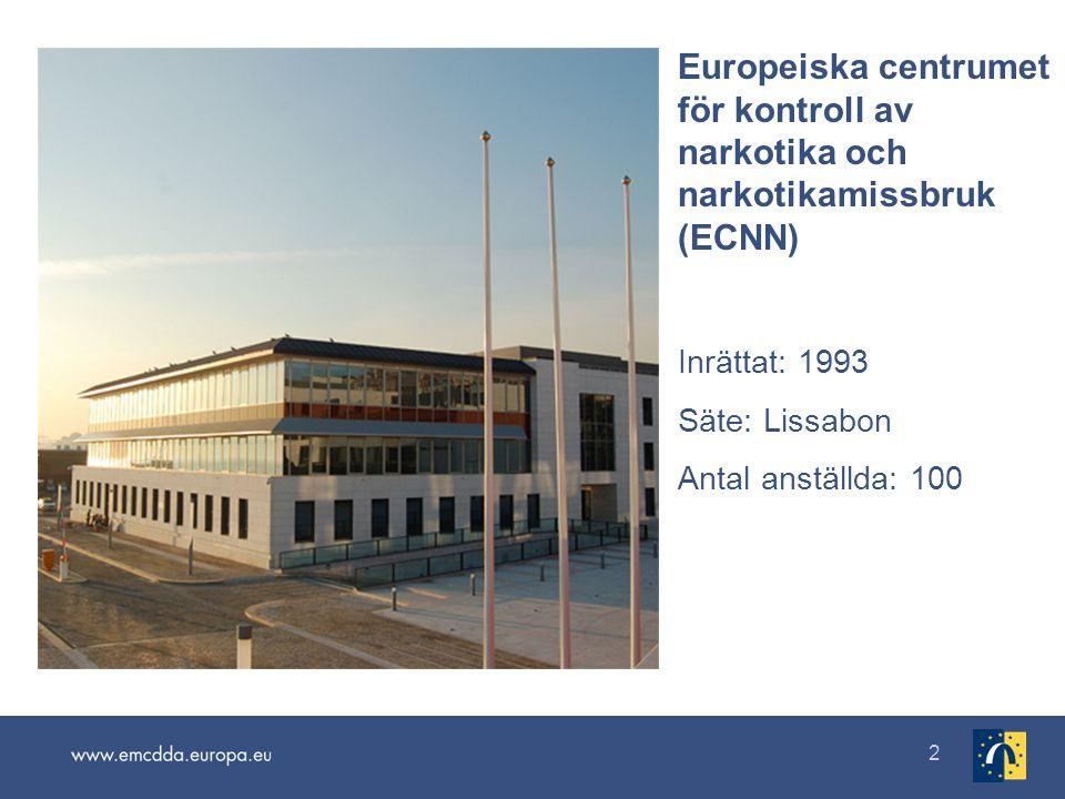3 Flerspråkigt informationspaket www.emcdda.europa.eu/annual-report