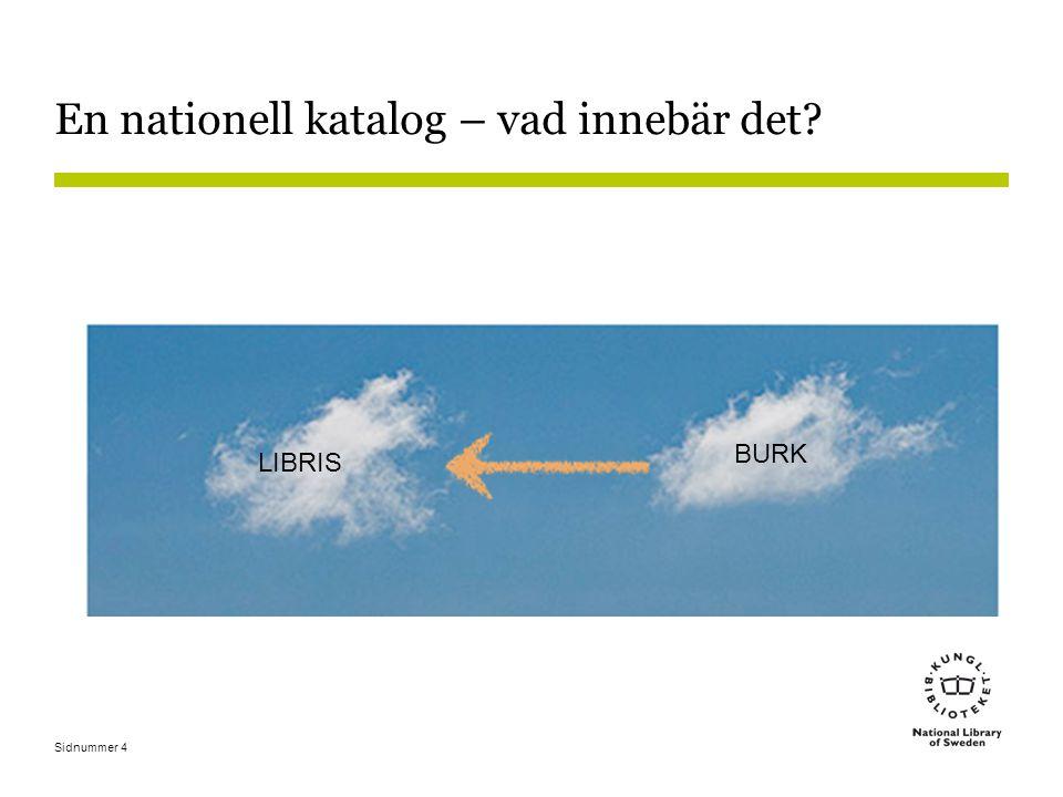Infrastruktur för e-böcker •Leverans av bibliografisk information behöver hanteras automatiskt i LIBRIS.