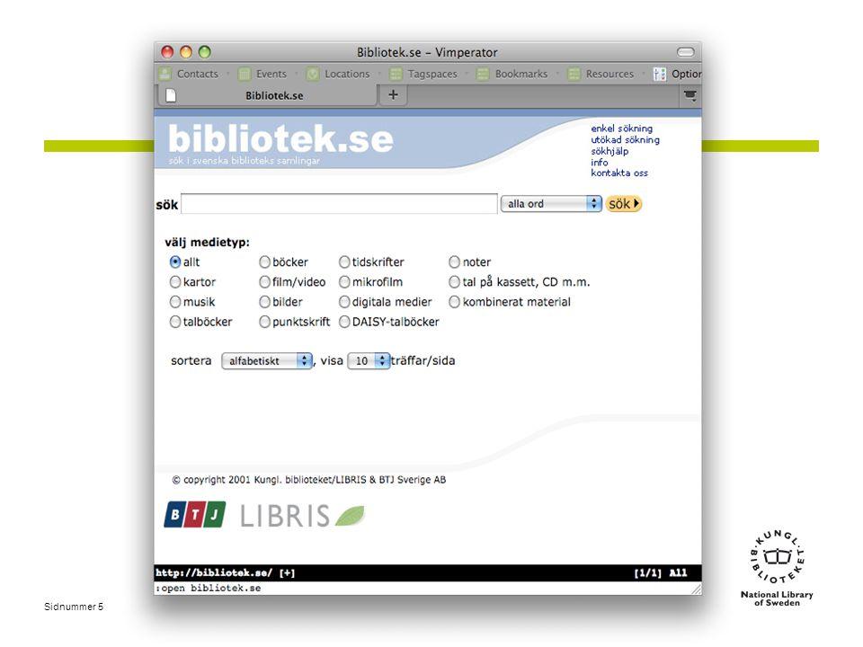 Nationell aggregeringstjänst •LIBRIS och SwePub •Effektivisera katalogisering •Inläsningar från SFX •Fler automatiserade inläsningar •Nationell katalog •E-plikt •Databrunnar, artiklar m.m.